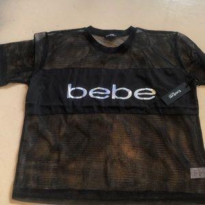 Bebe Sport mesh top